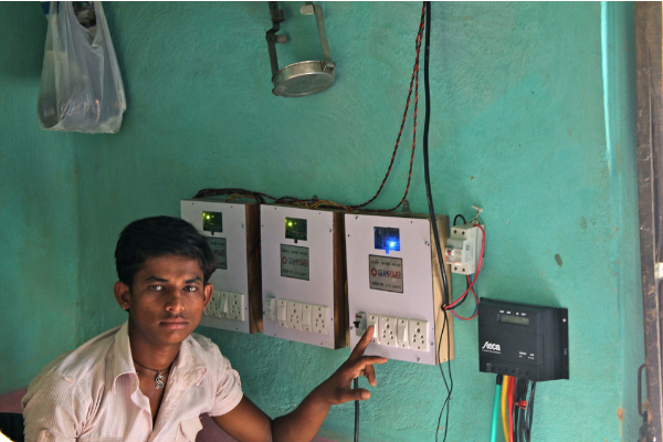 Serving Energy Customers with Power Distribution at the Bottom of the Pyramid