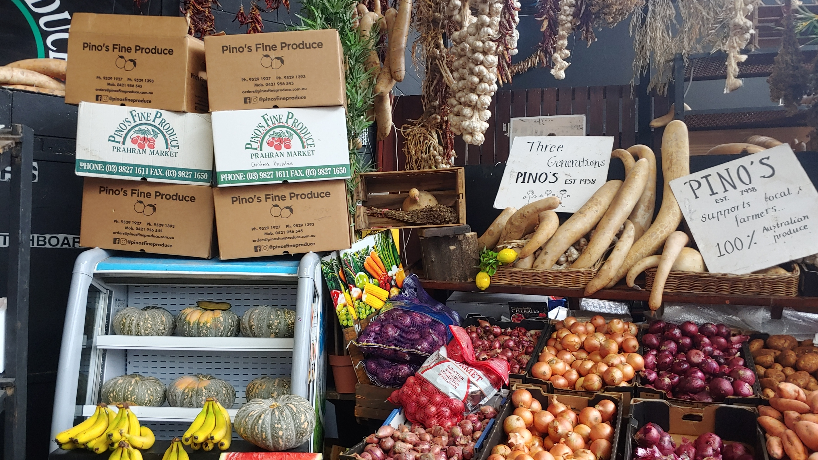 Delivering Veggie Boxes for the Community