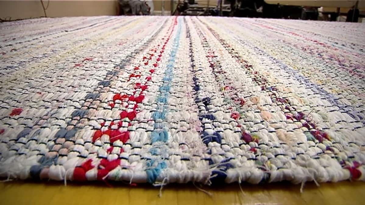 Rag Rugs From Old Sheets