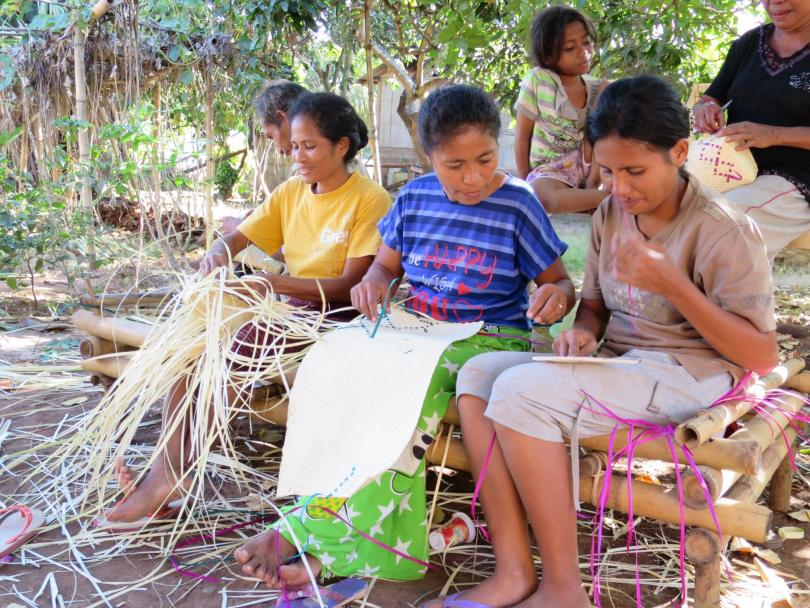 Weaving Well-Being