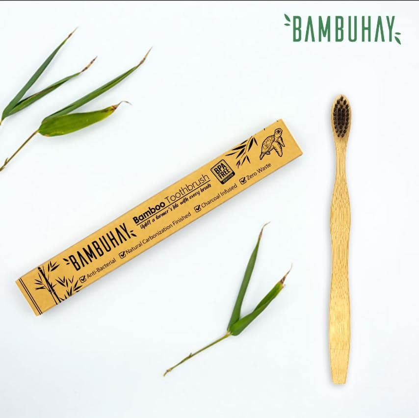 The World's First Plantable Toothbrush