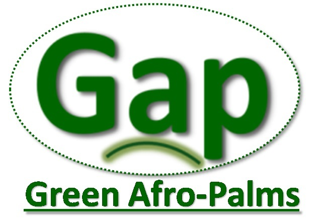 Green Afro-Palms