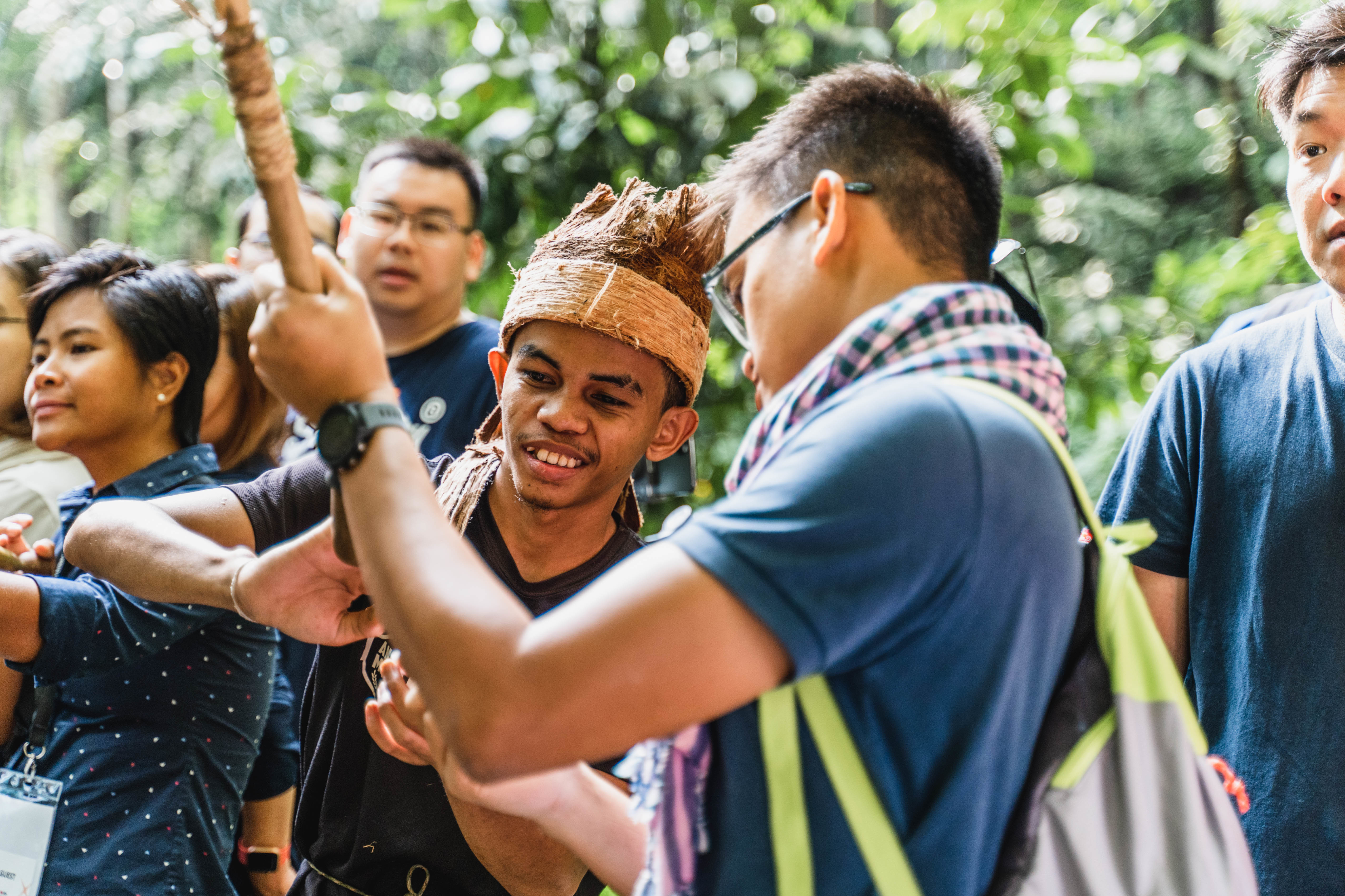 Navigating Nature with Natives