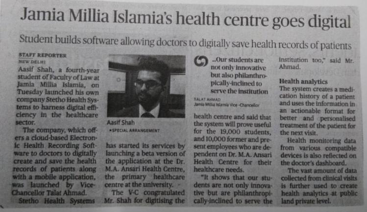Digitization of Healthcare
