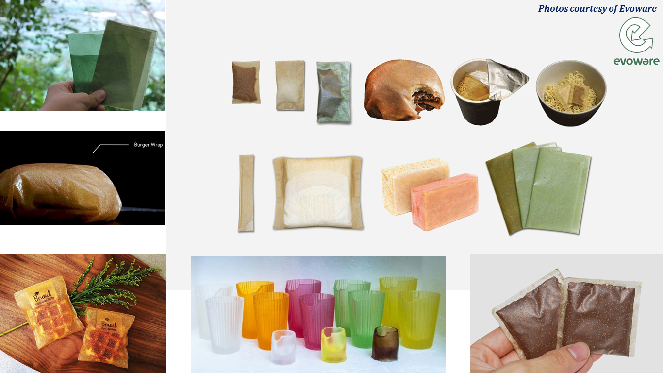 Edible and Nutritious Packaging with Seaweed-based Material to Decrease Plastic Waste