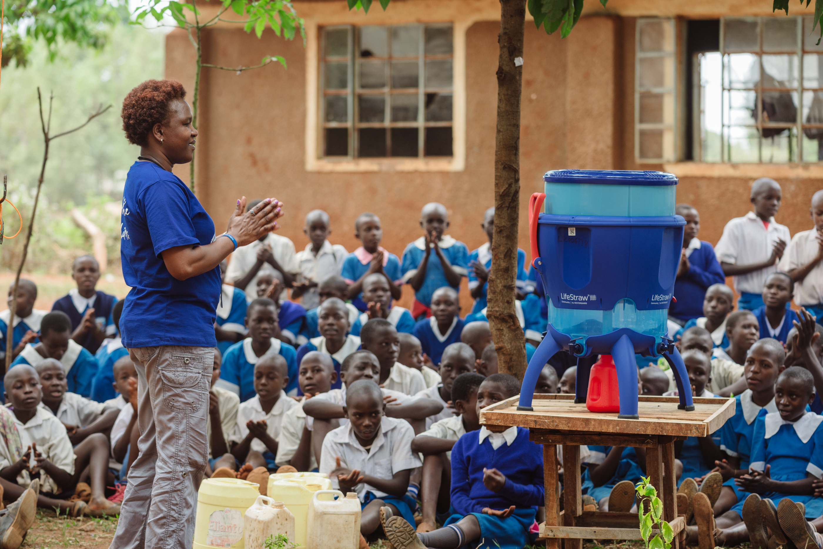 Bringing Safe Drinking Water to Vulnerable Populations
