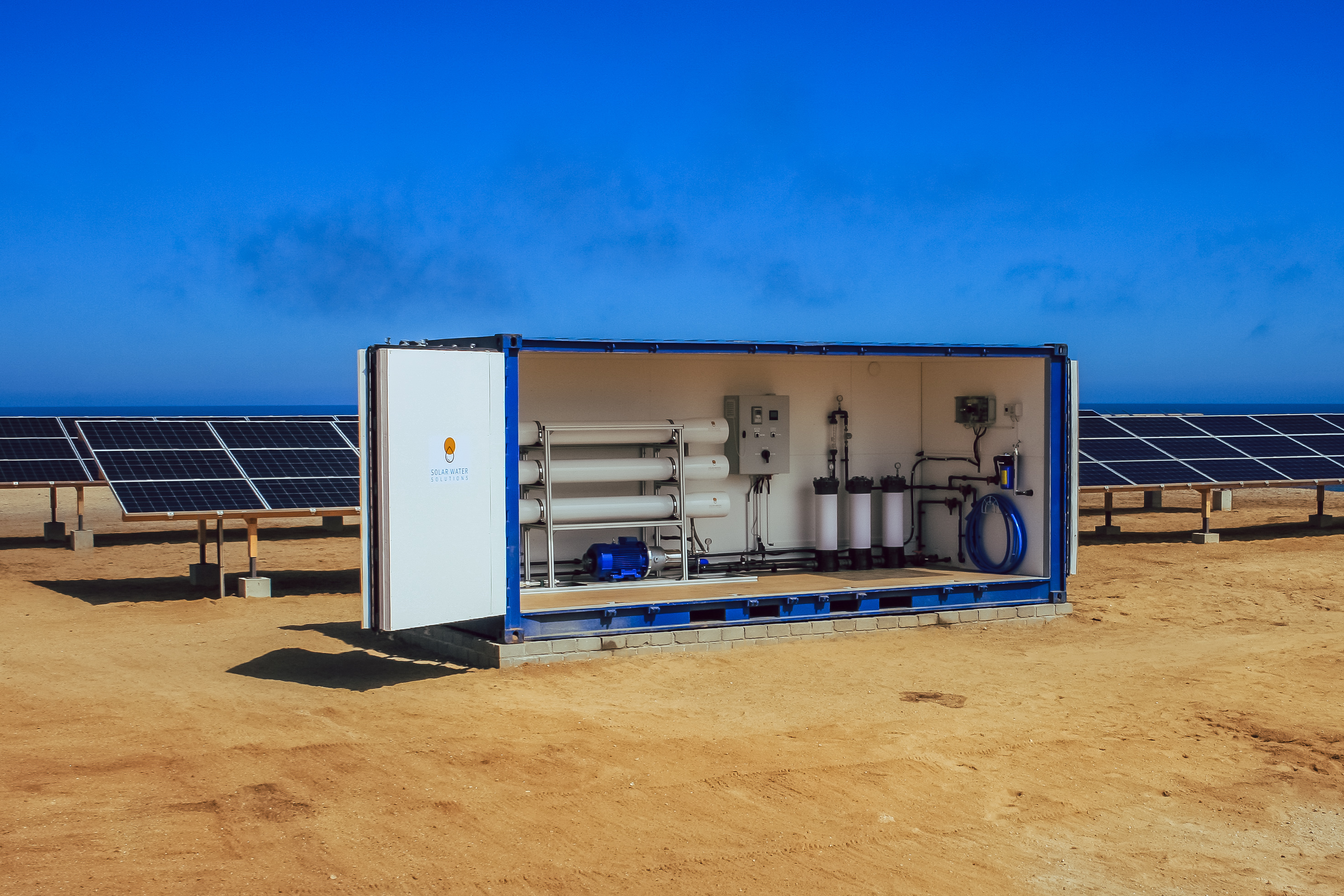 Water Purification with Solar Energy