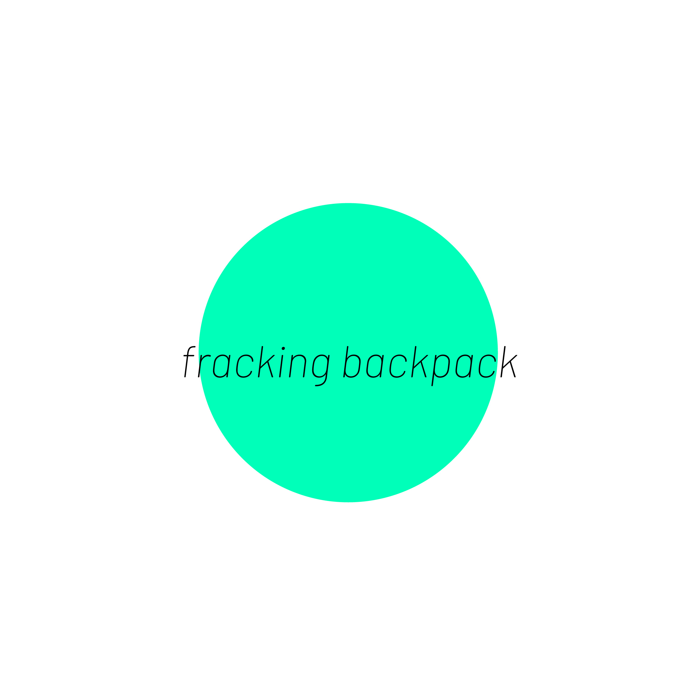 Fracking BackPack