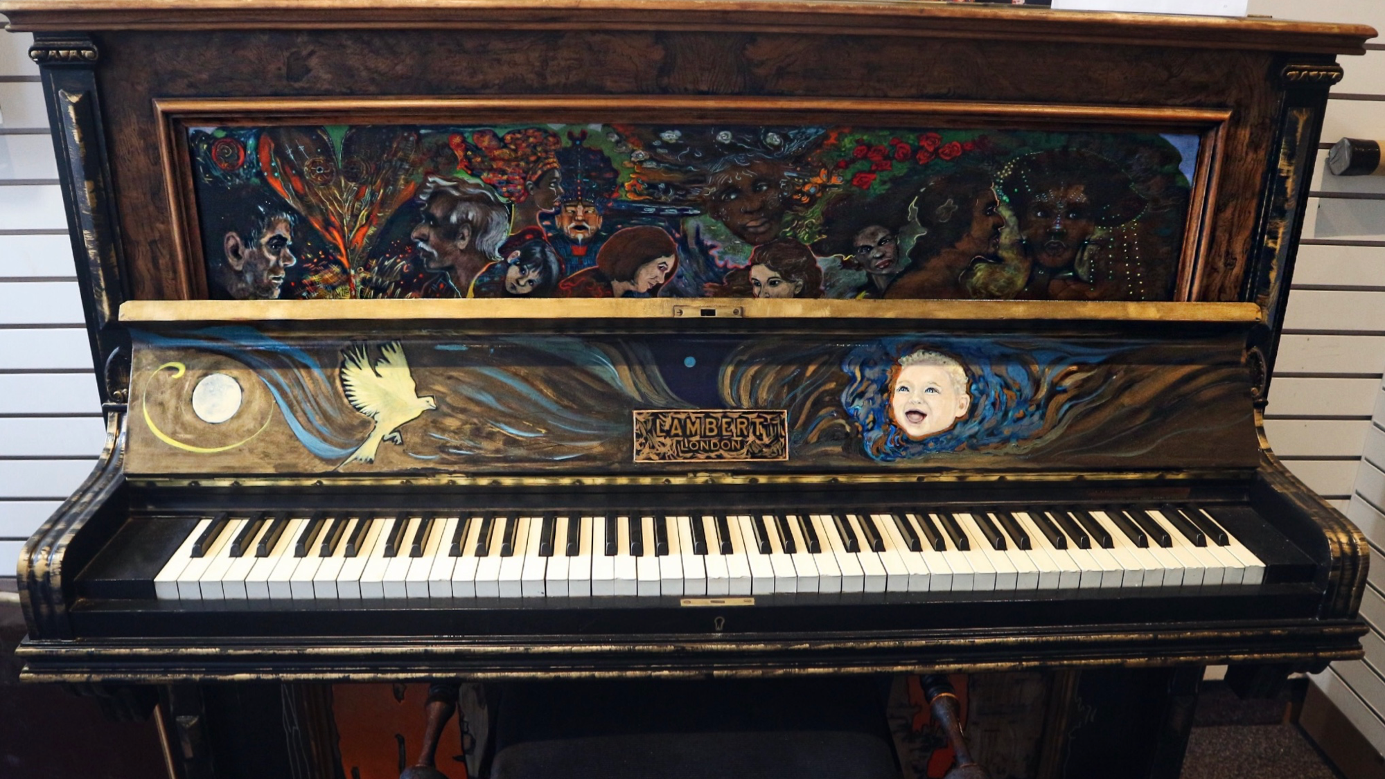 Grand Pianos in Grand Places