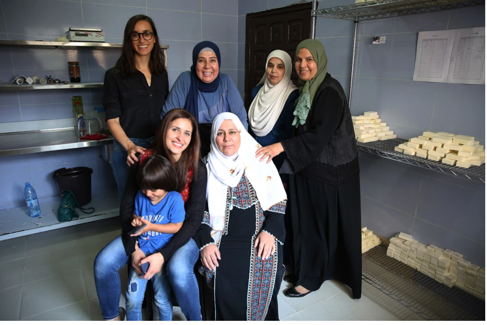 Olive Oil Soap Creating Opportunities for Refugees