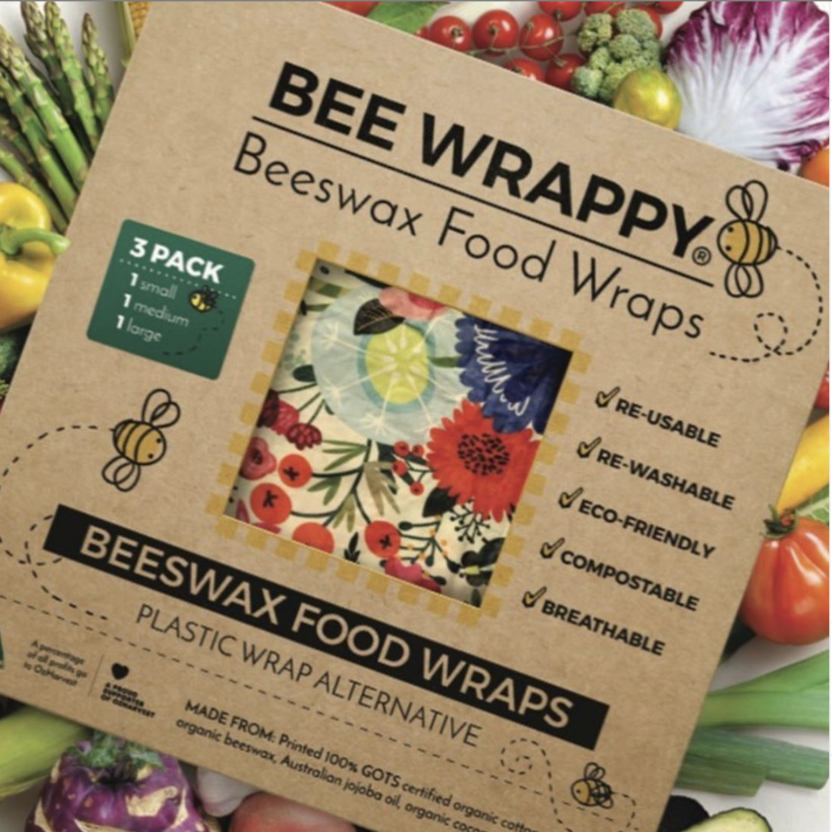 Changing Single-Use Mentality with Beeswax Wrappings