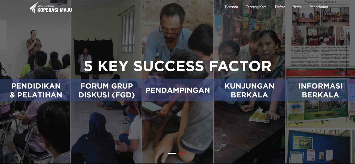 Koperasi Maju - Financial Services From Members To Members