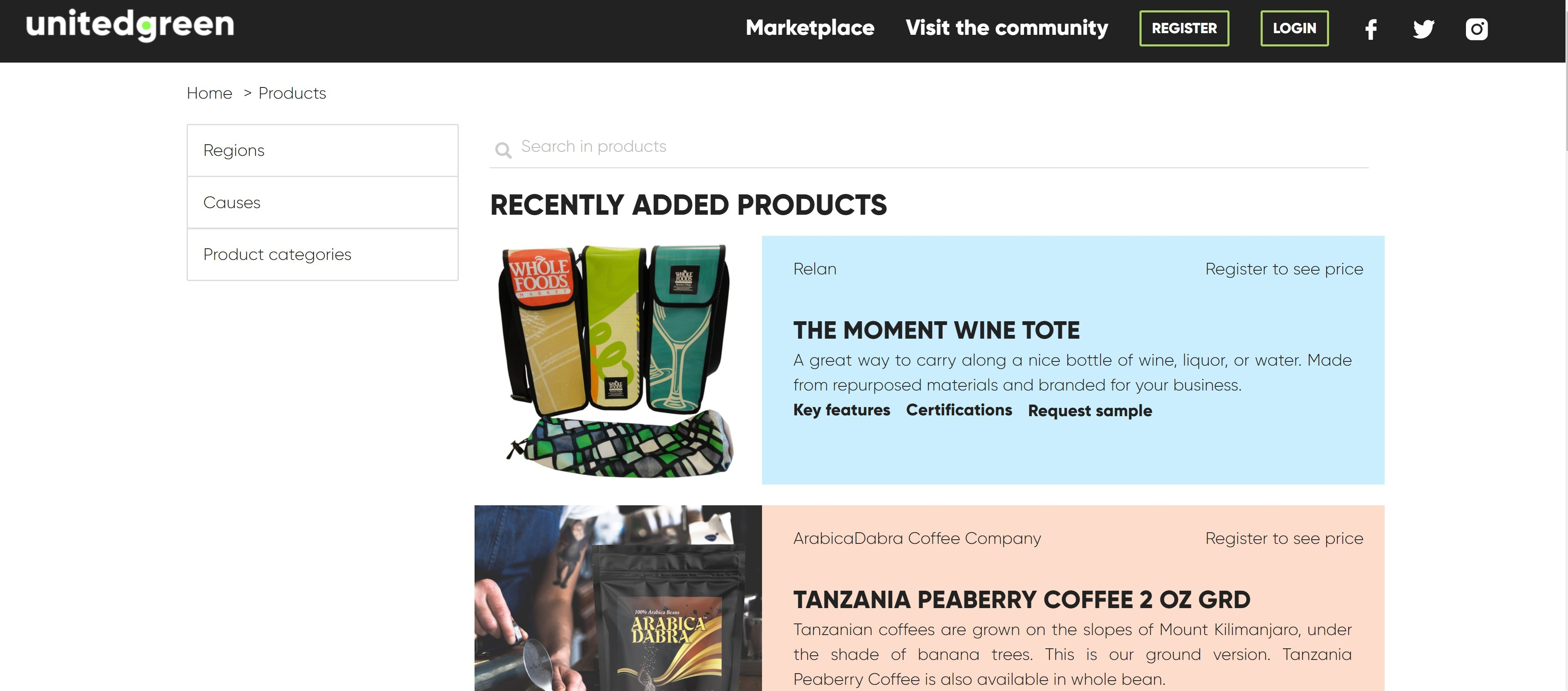 A Sustainable Wholesale Marketplace Breaking down Barriers