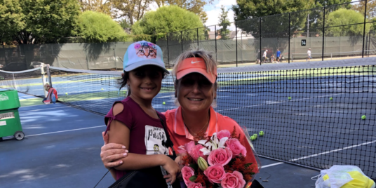 A Tennis Coach Making a Greater Impact
