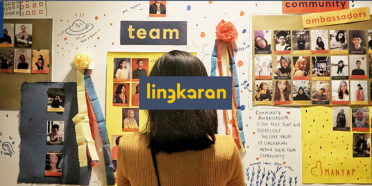 LINGKARAN: A LEADING LEARNING PLATFORM EMPOWERED BY INDONESIAN YOUNG GENERATION