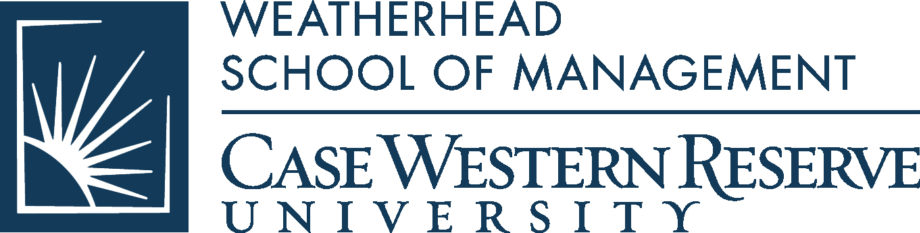 Weatherhead School of Management at Case Western Reserve University Logo