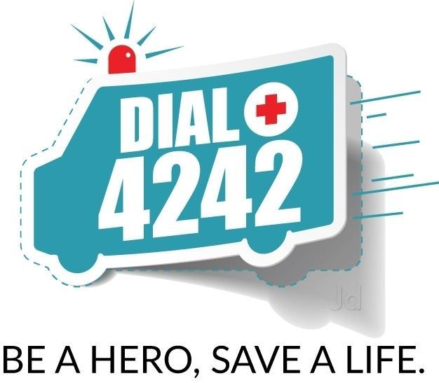 When Emergency Summons, Dial 4242!