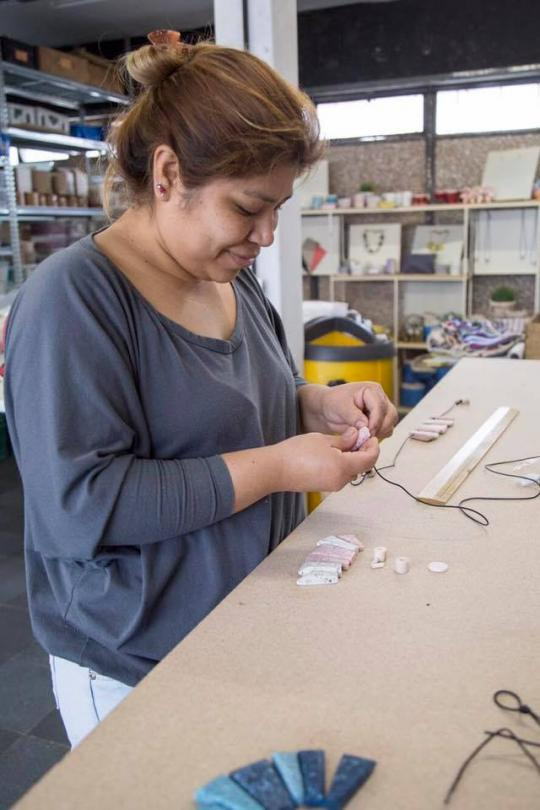 Using Waste to Generate Decent Employment Opportunities for Women