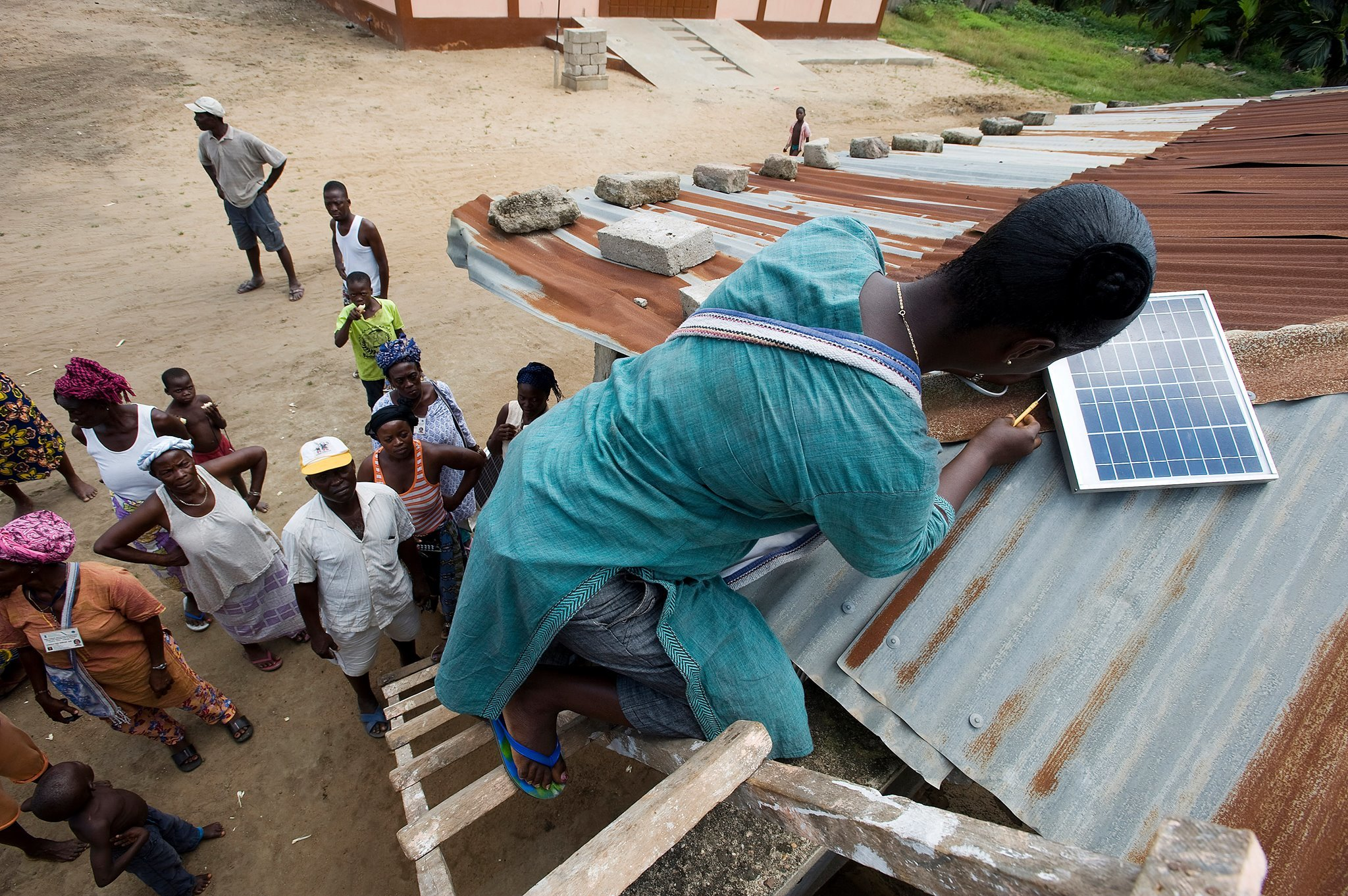 Solar Mamas Are The New Solar Engineers