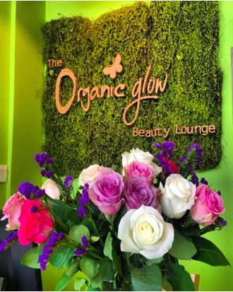 The organic glow beauty lounge