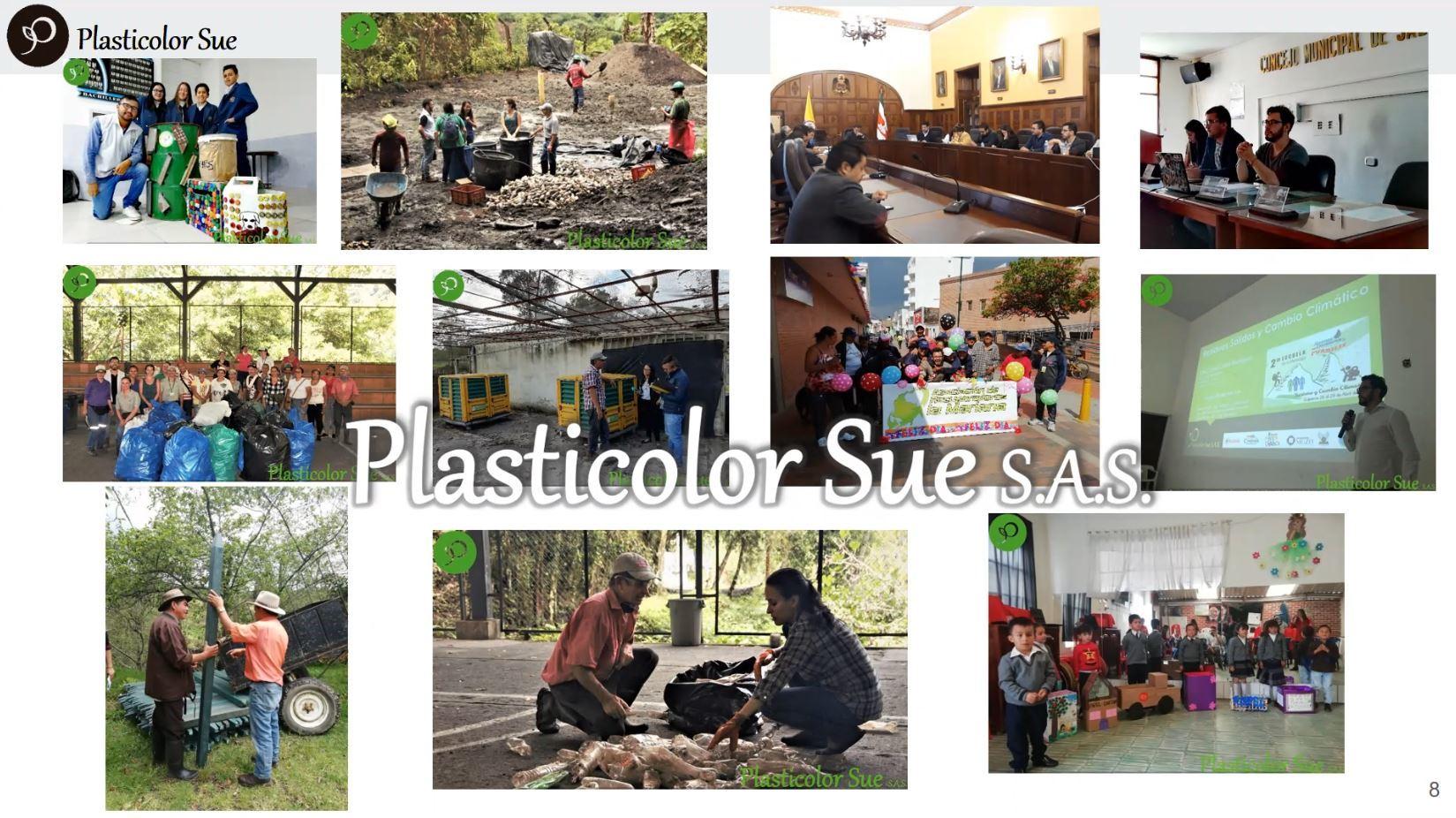 PLASTICOLOR SUE- Alliances for a Circular Economy / PLASTICOLOR SUE- Alianzas para una Economía Circular