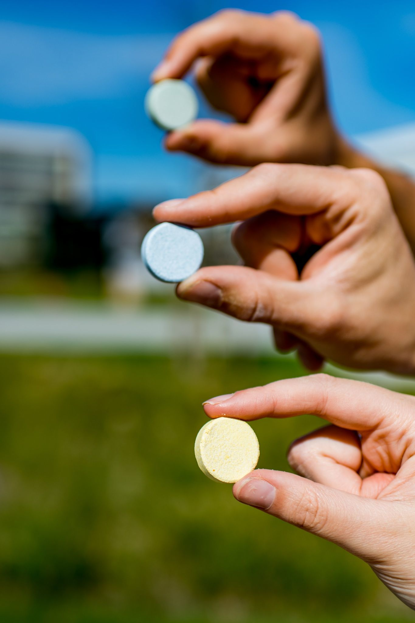 The First Single-Use Shampoo Tablets in Europe