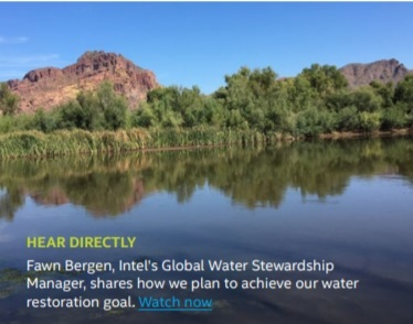 The Next Chapter Restore 100% of Global Water used by 2025
